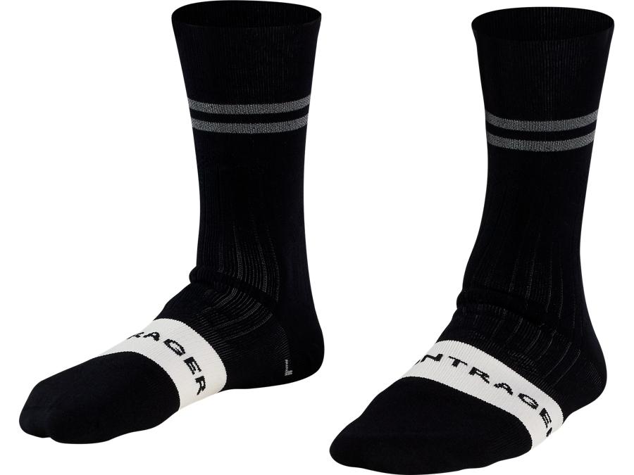 Bontrager Sock Velocis Crew Small (35-38) Black